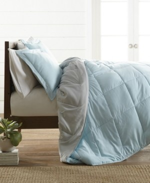 IENJOY HOME Restyle your Room Reversible Comforter Set by The Home Collection, Twin/Twin Xl Bedding
