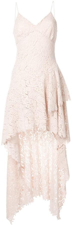 Philosophy di Lorenzo Serafini Floral Lace Design Dress