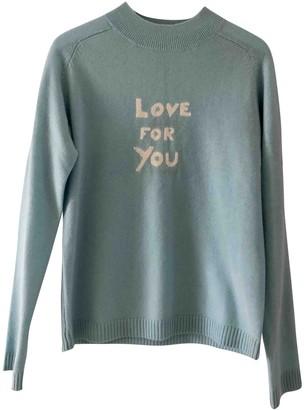 Bella Freud Blue Cashmere Knitwear
