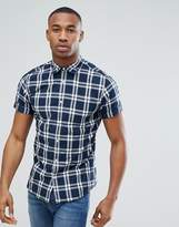 Jack and Jones Originals Checked Short Sleeve Shirt