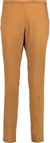 Rochas Cotton-blend slim-leg pants