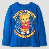 Daniel Tiger Toddler Boys' Long Sleeve Neighborhood T-Shirt - Blue