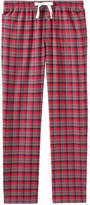 Joe Fresh Men's Plaid Flannel Sleep Pant, Light Navy (Size XXL)