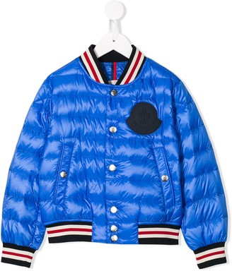 Moncler Enfant Feather Down Bomber Jacket