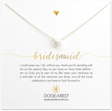 Dogeared 14K Gold Plated Sterling Silver 8mm Freshwater Pearl Bridesmaid Necklace