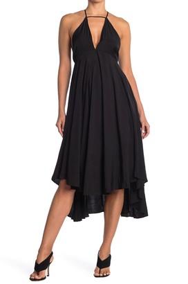 Do & Be Keyhole V-Neck Maxi Dress