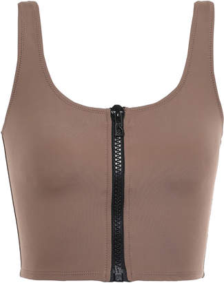 Solid & Striped The Christie Zip-detailed Bikini Top