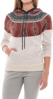 Mavi Jeans Tribal Print Hoodie Sweater (For Women)