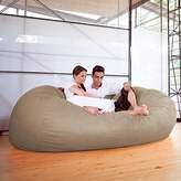 Jaxx 7 ft Giant Bean Bag Sofa, Camel