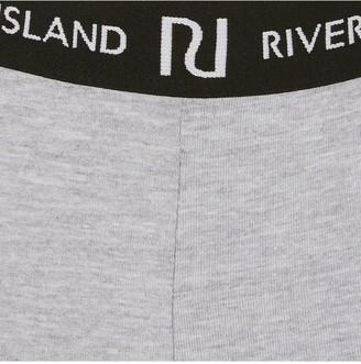 River Island GirlsWaistband Legging -Grey