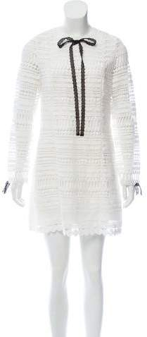 Alexis Guipure Lace Mini Dress w/ Tags