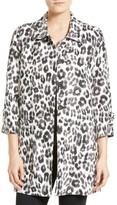 Joie Women's Wes Leopard Print Linen Jacket