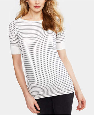A Pea in the Pod Maternity Boat-Neck Top