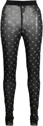Diesel footless print tights