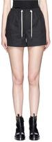 Helmut Lang Drawstring waist twill shorts