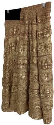 Willow Gold Skirt for Women