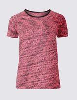 Marks and Spencer Santoni Seamfree T-Shirt with Cool ComfortTM Technology
