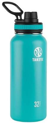 Takeya Originals 32oz Insulated Stainless Steel Water Bottle with Spout Lid