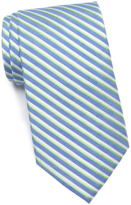 Tommy Hilfiger Orchard Stripe Silk Tie