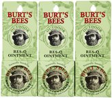 Burt's Bees Res-Q Ointment, 0.6 oz, 3 pack