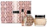 Jimmy Choo Coffret: Eau De Parfum Spray 100ml/3.3oz + Glittering Body Cream 150ml/5oz + Eau De Parfum Roll On 10ml/0.33o