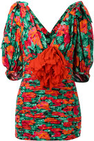 Gucci poppy print blouse - women - Silk - 40