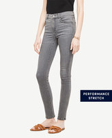 Ann Taylor Petite Modern All Day Skinny Jeans in Stormy Mist Wash