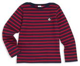 Petit Bateau Little Boy's Striped Cotton Tee