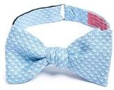 Vineyard Vines Men's Whale Print Silk Bow Tie
