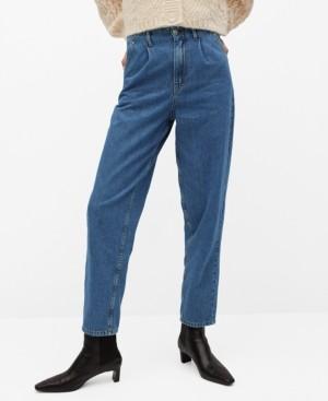 MANGO Women's Dart Slouchy Jeans