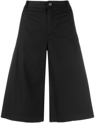Mr & Mrs Italy Twill Cotton Popeline Cropped Pants For Woman