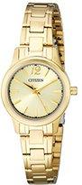 Citizen Women's EL3032-53P Analog Display Japanese Quartz Gold Watch