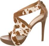 Walter Steiger Ponyhair Multistrap Sandals