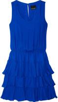 Cynthia Rowley Ruffled silk dress