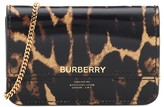 Burberry Jody patent leather wallet