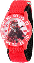 Marvel Guardian Of The Galaxy Boys Red Strap Watch-Wma000128