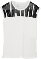 3.1 Phillip Lim Printed cotton-jersey tank