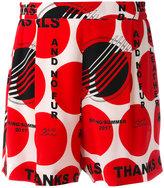 Stella McCartney Thanks Girls Zandra shorts - women - Silk - 40