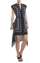 BCBGMAXAZRIA Rayanne Printed Sleeveless Dress