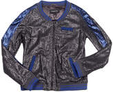 Members Only Sequin Baseball Jacket