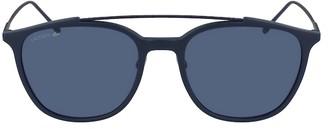 Lacoste Rectangle Acetate Ultra-Thin Sunglasses