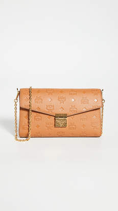 MCM Millie Monogrammed Small Crossbody Bag