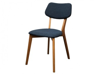 Fox Imports Jelly Bean Dining Chair Storm Blue
