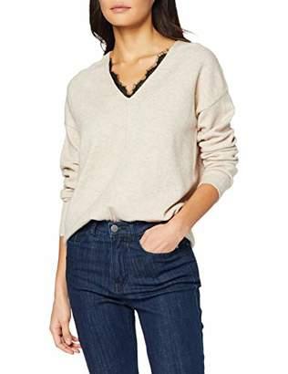 Tom Tailor Women's Spitzenpullover Sweater,S