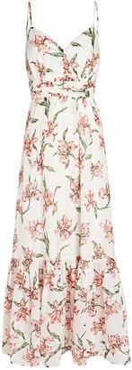 Intermix Cristiana Floral Print Maxi Dress