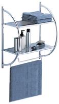 2 Tier Shelf with Towel Bars