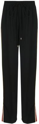 Chloé High-waisted Drawstring Pants Black