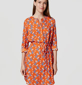 LOFT Petite Tulip Shirtdress