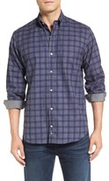 Tailorbyrd Men's Big & Tall 'Lamborghini' Regular Fit Check Sport Shirt