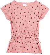 Oeuf Strawberry-Print Dress